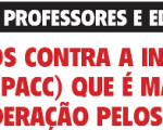 Apelo aos Educadores e Professores